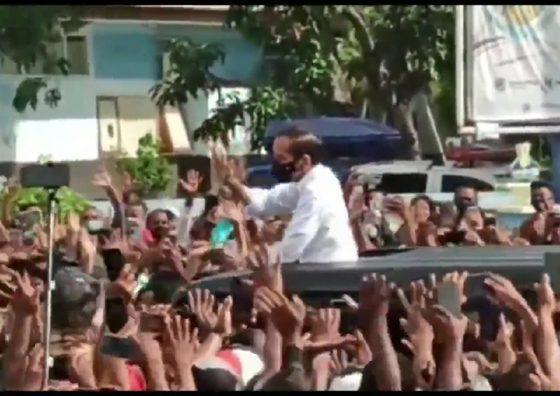 Polri Sebut Kerumunan Jokowi di NTT Tak Masuk Pelanggaran Hukum
