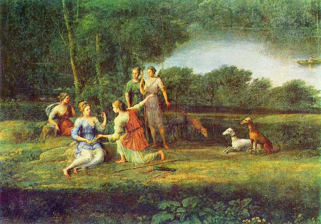 Claude Lorrain - Egeria weeps over Numa