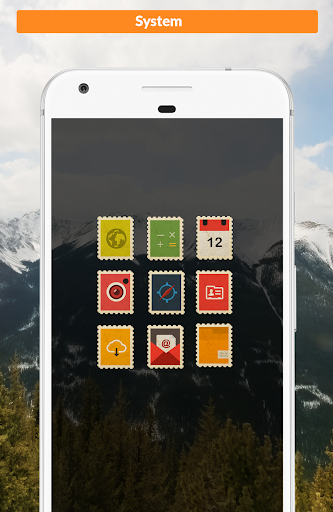 Postamp Icon Pack app for Android screenshot