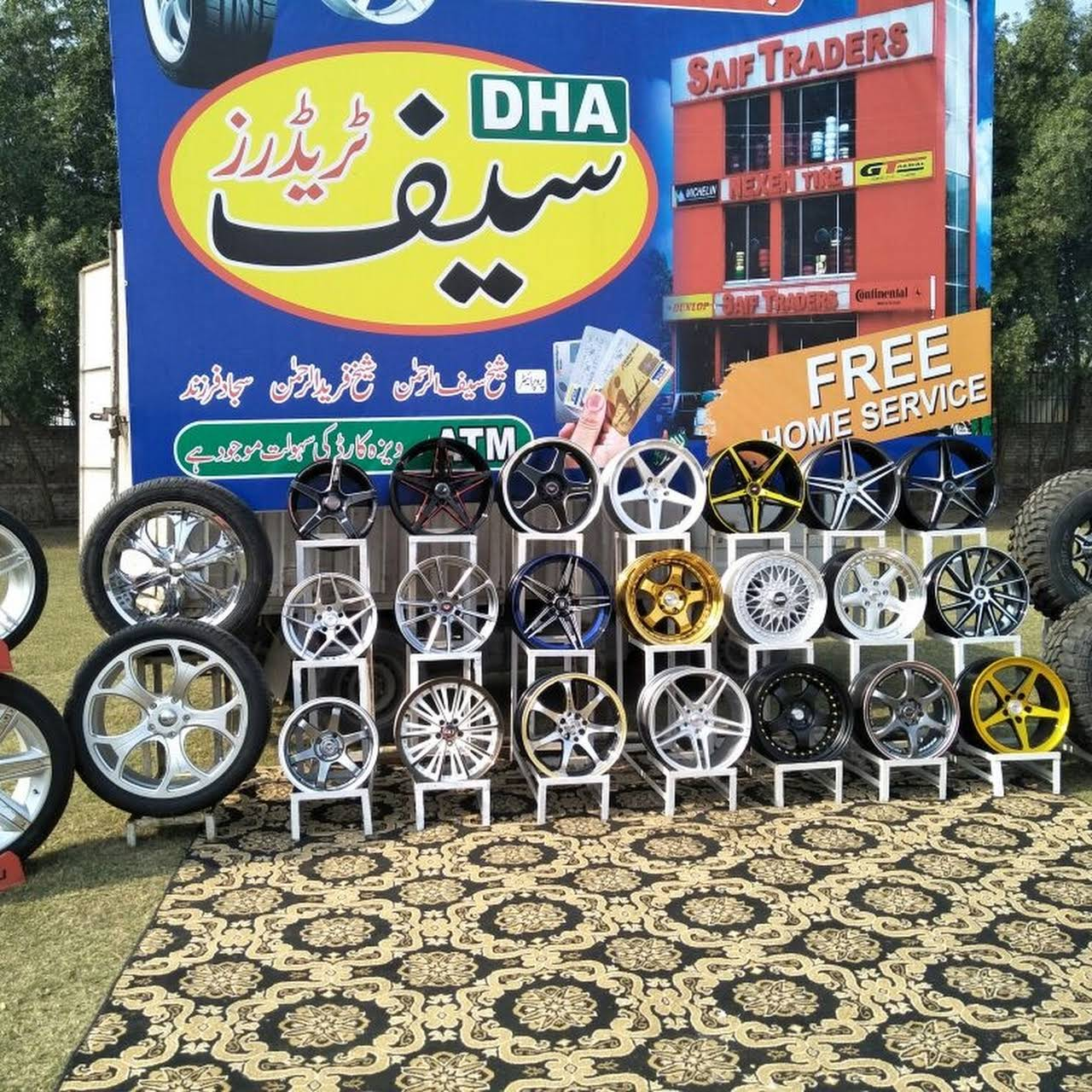 Saif Traders (Deals In Tyres & Alloy Rims) - Tyre Shop in Lahore