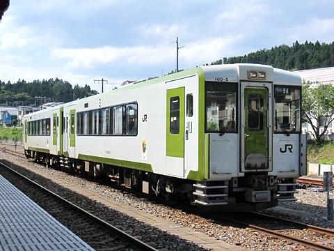 JR東日本 大船渡線 キハ100-5