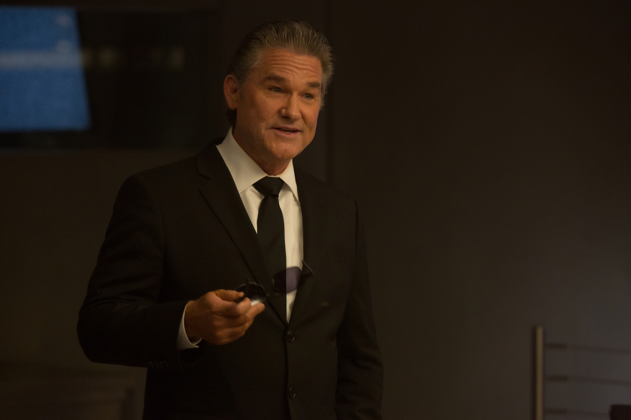 Kurt Russell in THE FATE OF THE FURIOUS. (Photo by Matt Kennedy / courtesy of Universal Pictures).