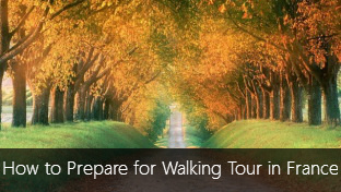 Useful Tips for preparing for a walking tour in France