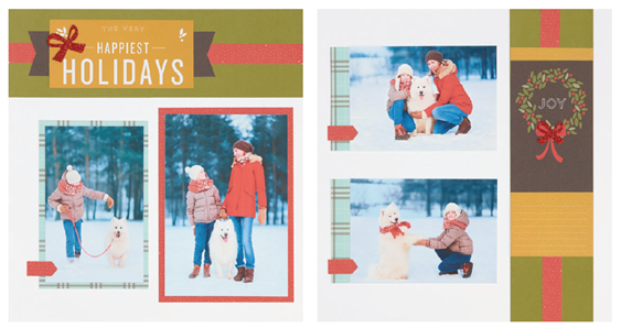 2016-11 Happy, Happy Christmas - layout 4