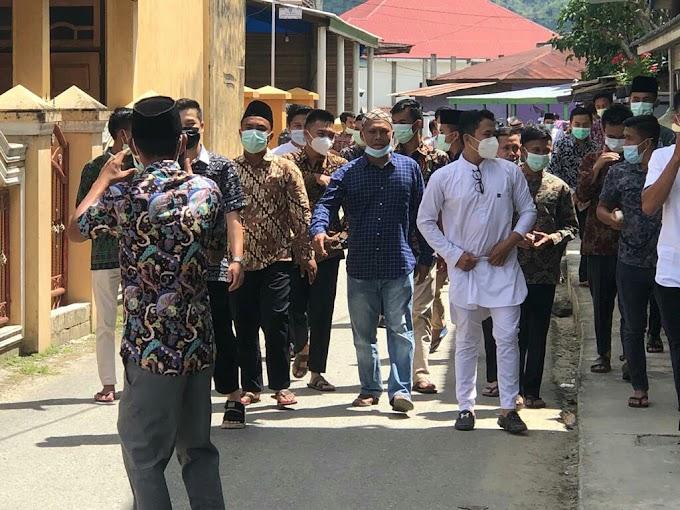 "Cakades Muara semerah No.urut 2  ""Iril Arizal"" lakukan kampanye door to door menyapa Masyarakat"
