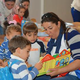 Visita de Alborada a la Biblioteca