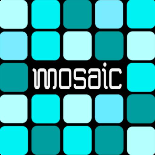 Mosaic Cyan EMUI 5 Theme