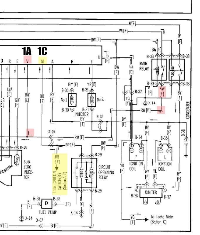 Gsl-se Fuel Pump Re-wiring - Rx7club Com