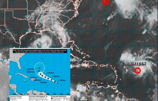 Se forma la tormenta tropical número 16