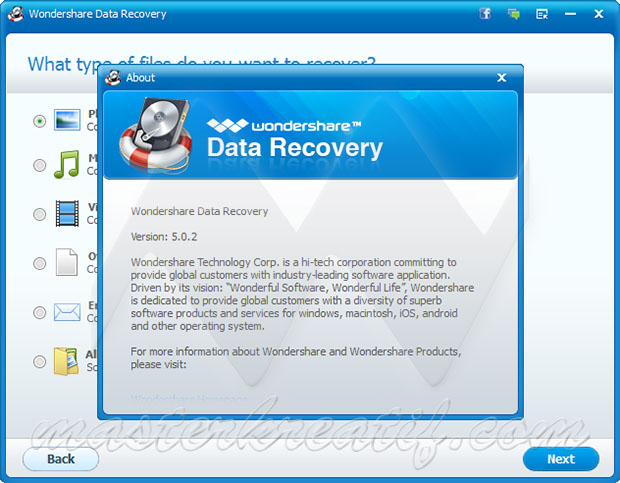 Wondershare Data Recovery 5