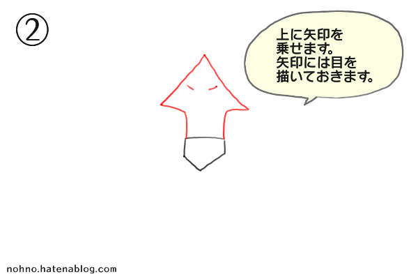 ガブリアスの描き方-ステップ2