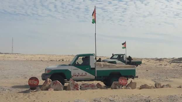 Resultado de imagen de El Guerguerat saharaui