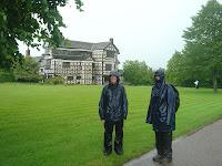 Little Moreton Hall in the rain