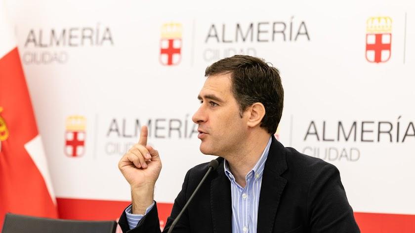 Miguel Ángel Castellón, concejal de Desarrollo Urbano.