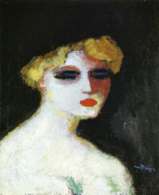 Kees Van Dongen - Blond Woman with Small Head