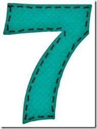 7 letras verdes