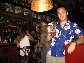 I can't see too well; is that a young Jimmy Buffett? No, no, it's the next best thing - Josh Fenton