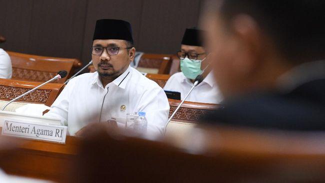 Dicecar Demokrat Soal Diseminasi Pembatalan Haji Rp21 M, Menag Yaqut Tak Merespon