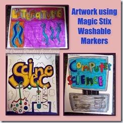 Artwork using Magic Stix Markers