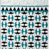 ESPOIR D'ENVOL - Brigitte Le Guerroué - Piécé et quilté machine - Reproduction d'une mosaïque de la Salle des Ambassadeurs - Palais de L'Alhambra de Grenade - Espagne