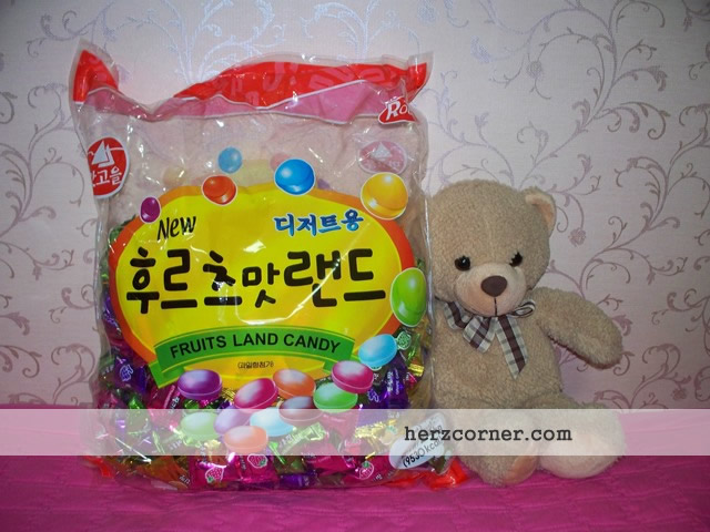 Korea Fruits Land Candy