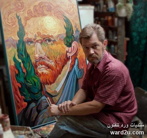 روائع لوحات خداع البصر واعمال الفنان Oleg Shupliak