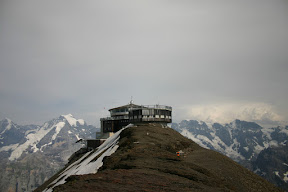 Piz Gloria at the top of the Schilthorn