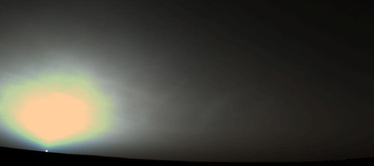 Martian Sunrise