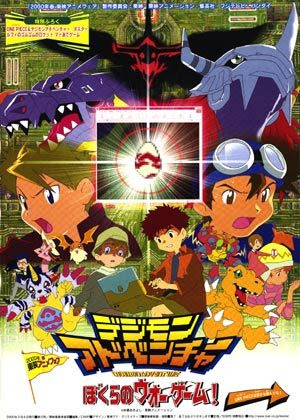 Digimon The Movie 2 : Digimon Adventure – Our War Game [พากย์ไทย]