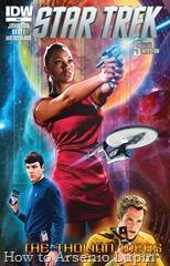 Actualización 17/03/2017: Actualizo con los numero 46, 47, 48 y 49 de Star Trek Ongoing – Las Nuevas Aventuras por el Almirante Axelorius de la mansión del CRG.