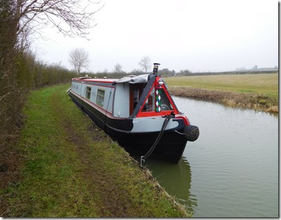 1 moored near marston doles