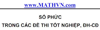 So phuc trong de thi Dai hoc, Cao dang, Tot nghiep THPT