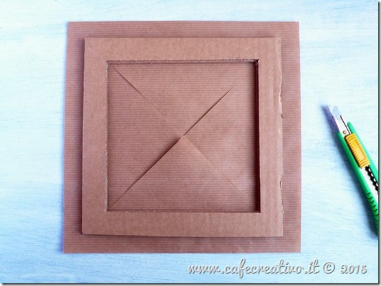 come fare cornice cartone e carta - tutorial by cafecreativo (4)