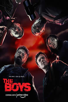 Capa The Boys 1ª Temporada Dublado Torrent
