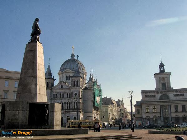 centrum Łodzi - plac wolności