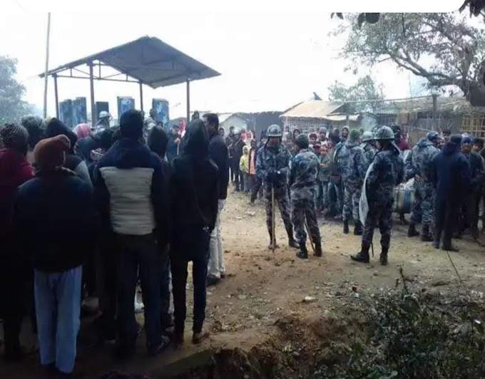 सीमा पर नेपाल पुलिस की सख्ती से भड़का आक्रोश, नो मेंस लैंड में हुई नारेबाजी
