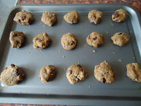Making Raisin Cookies