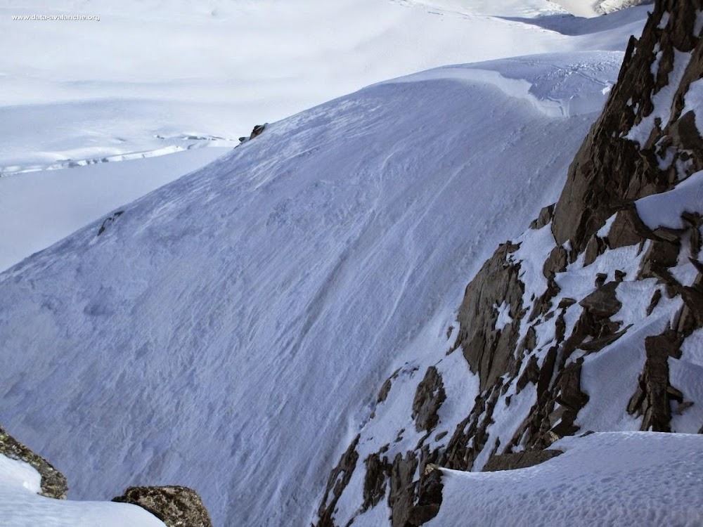 Avalanche Mont Blanc, secteur Aiguille de Toule - Photo 1