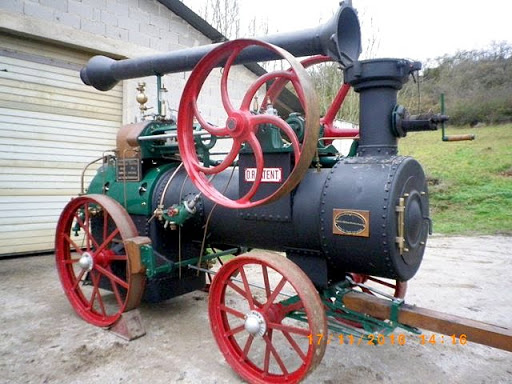 Lanz Lockomobiele Bj 1910 restauriert