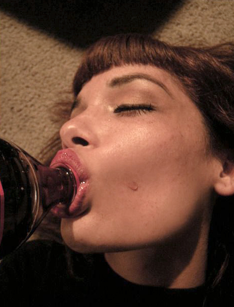 Hot sexy drinking girls