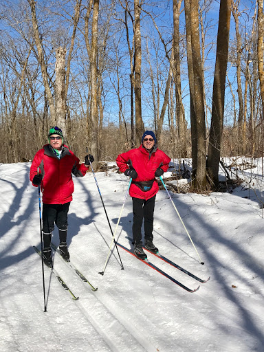 Members of the Elan Vital ski club on Sukkerbusk Friday morning, February 24th, 2017.