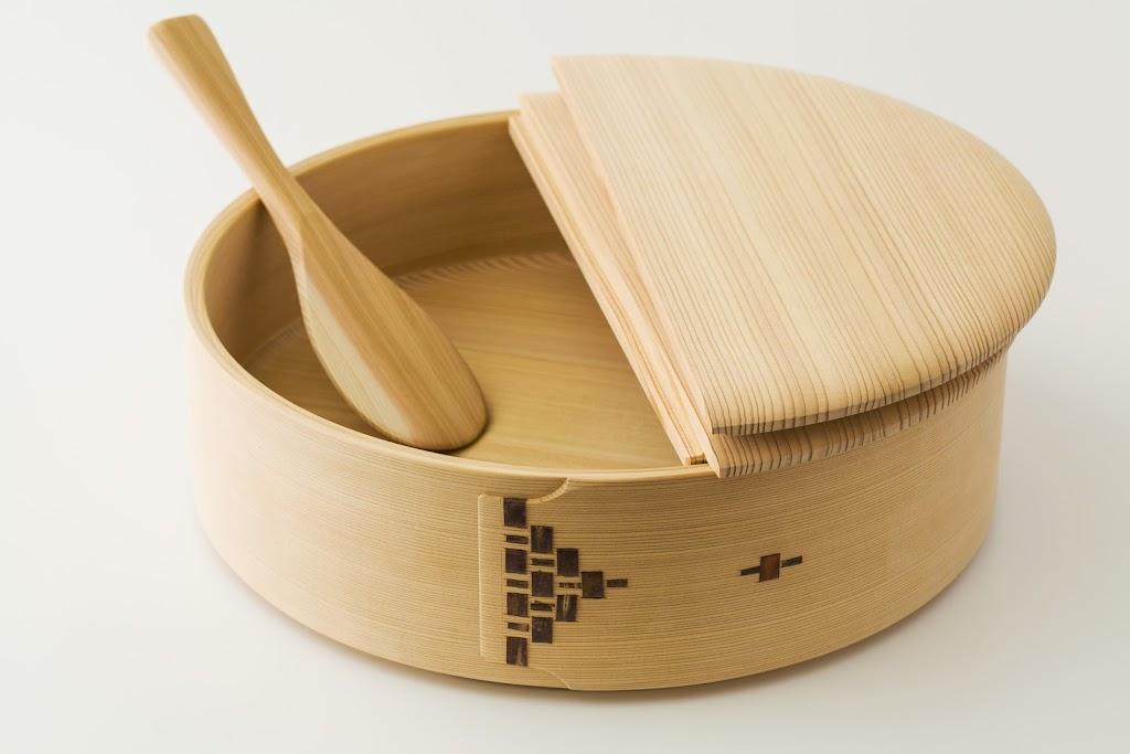 Magewappa Sushi Oke Bowl Hangiri
