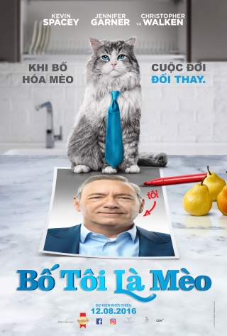 Bố tôi là mèo - Nine Lives (2016)