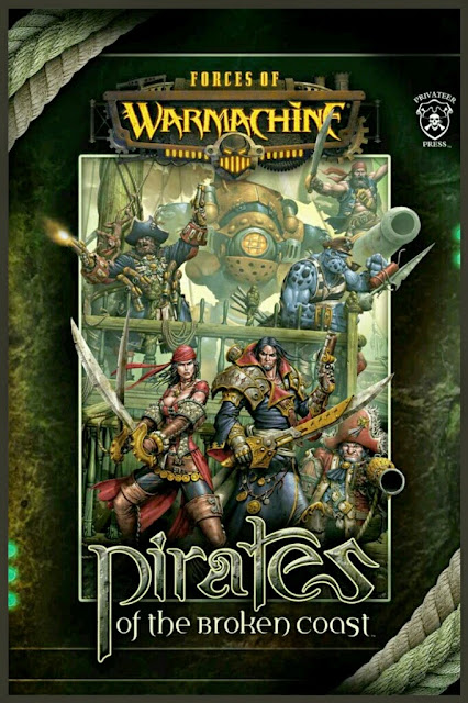 libro pirates of the broken coast de Warmachine
