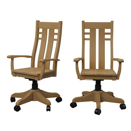 Seneca Office Chair in Ginger Maple