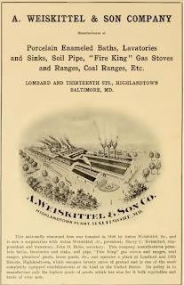 Weiskittel Ad c. 1920