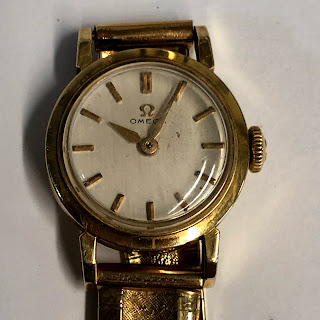 Omega 14 Kt. Gold Ladies Watch