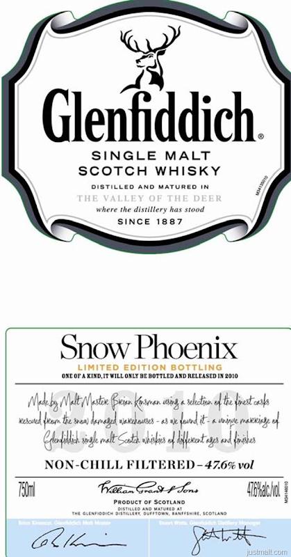 Glenfiddich Snow Phoenix