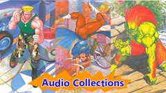 Street Fighter II Arcade Sound Effects audio collections