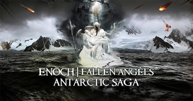 Evidence sugere que anjos caídos do livro de Enoch foram confinados na Antártida